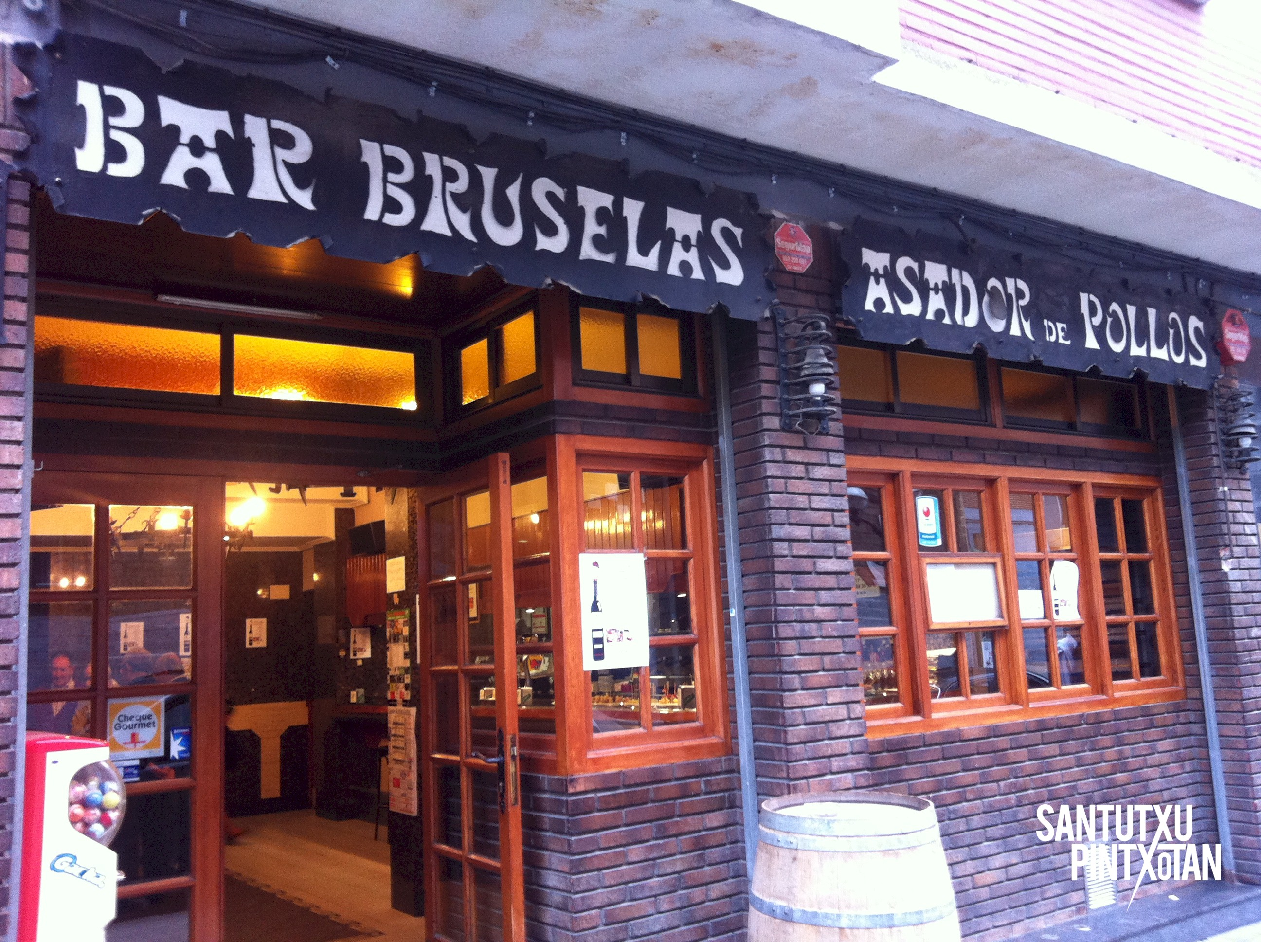 Bar Bruselas asador Santutxu