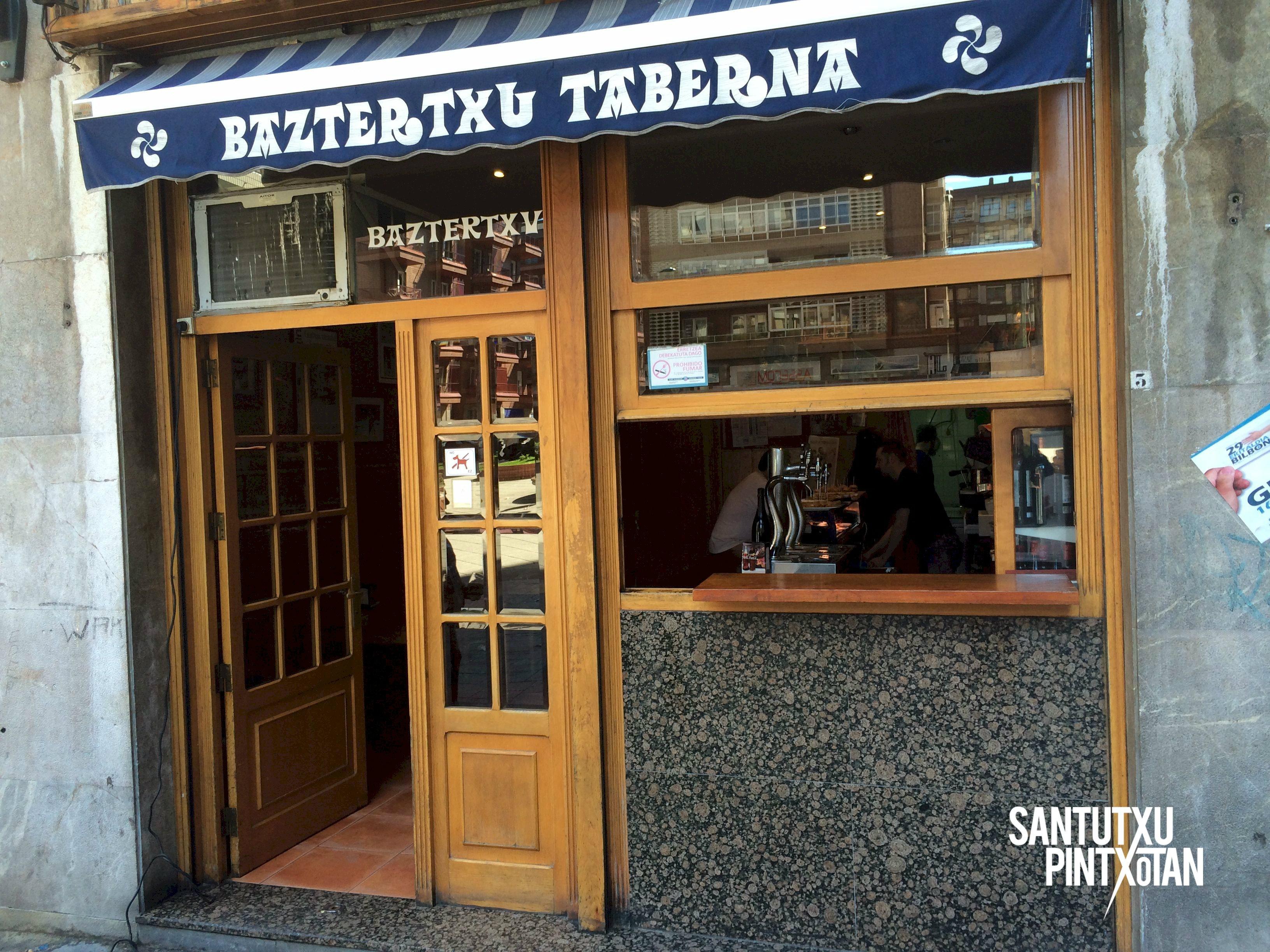 Baztertxu - Santutxu pintxotan