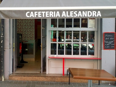 Cafetería Alesandra - Santutxu pintxotan