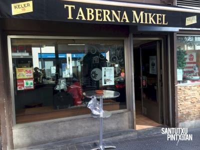 Taberna Mikel - Santutxu pintxotan