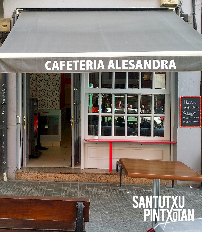 Cafetería Alesandra - Santutxu