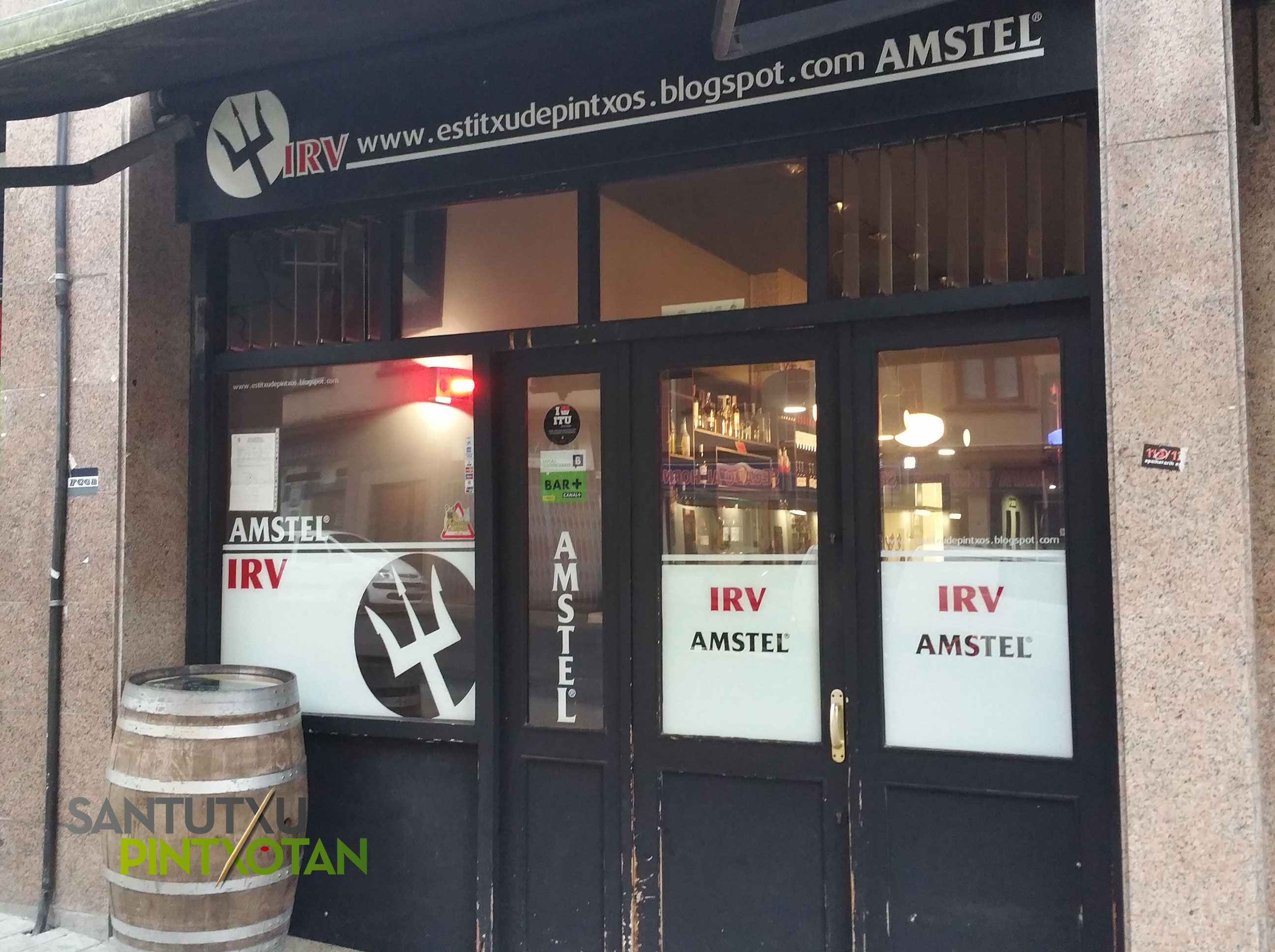 Bar IRV - Santutxu pintxotan