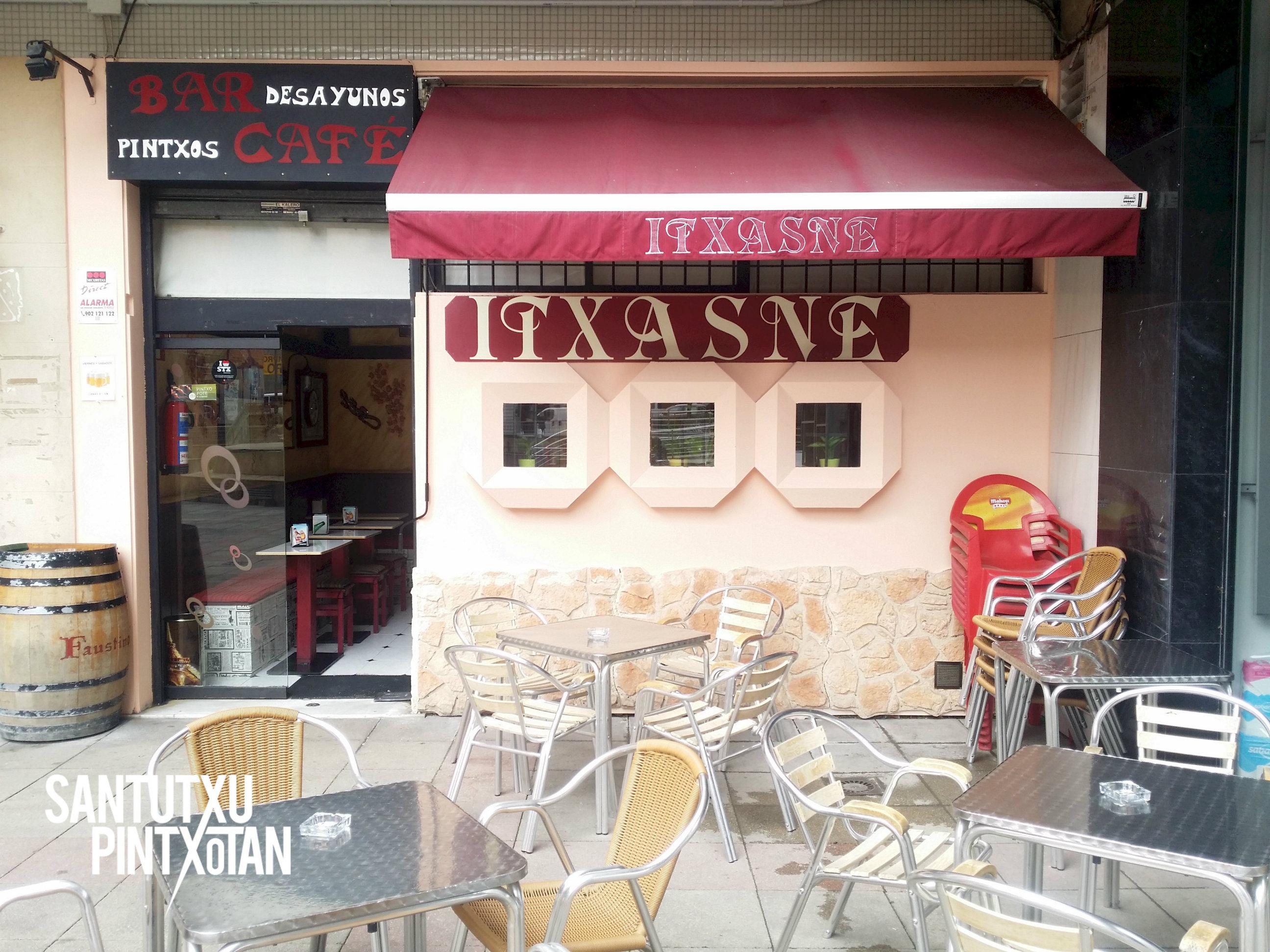 Bar Itxasne - Santutxu pintxotan